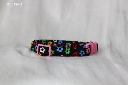 Daisy flower kitten and cat collar 3