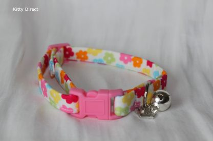 Daisy flower kitten and cat collar 4