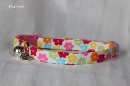 Daisy flower kitten and cat collar 5