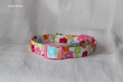 Daisy flower kitten and cat collar 6