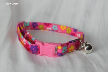 Daisy flower kitten and cat collar 17
