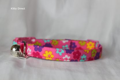 Daisy flower kitten and cat collar 18