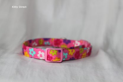 Daisy flower kitten and cat collar 19