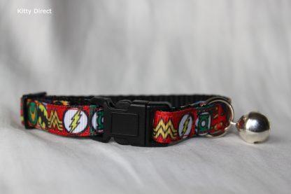 Super Hero Cat Kitten Safety collar 4