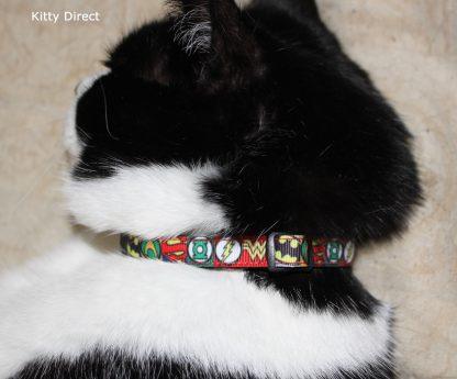 Super Hero Cat Kitten Safety collar 5