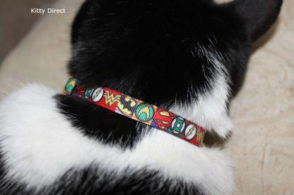 Super Hero Cat Kitten Safety collar 6