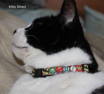 Super Hero Cat Kitten Safety collar 7