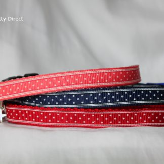 Handmade Stars Fabric Cat Kitten Safety Collar_1