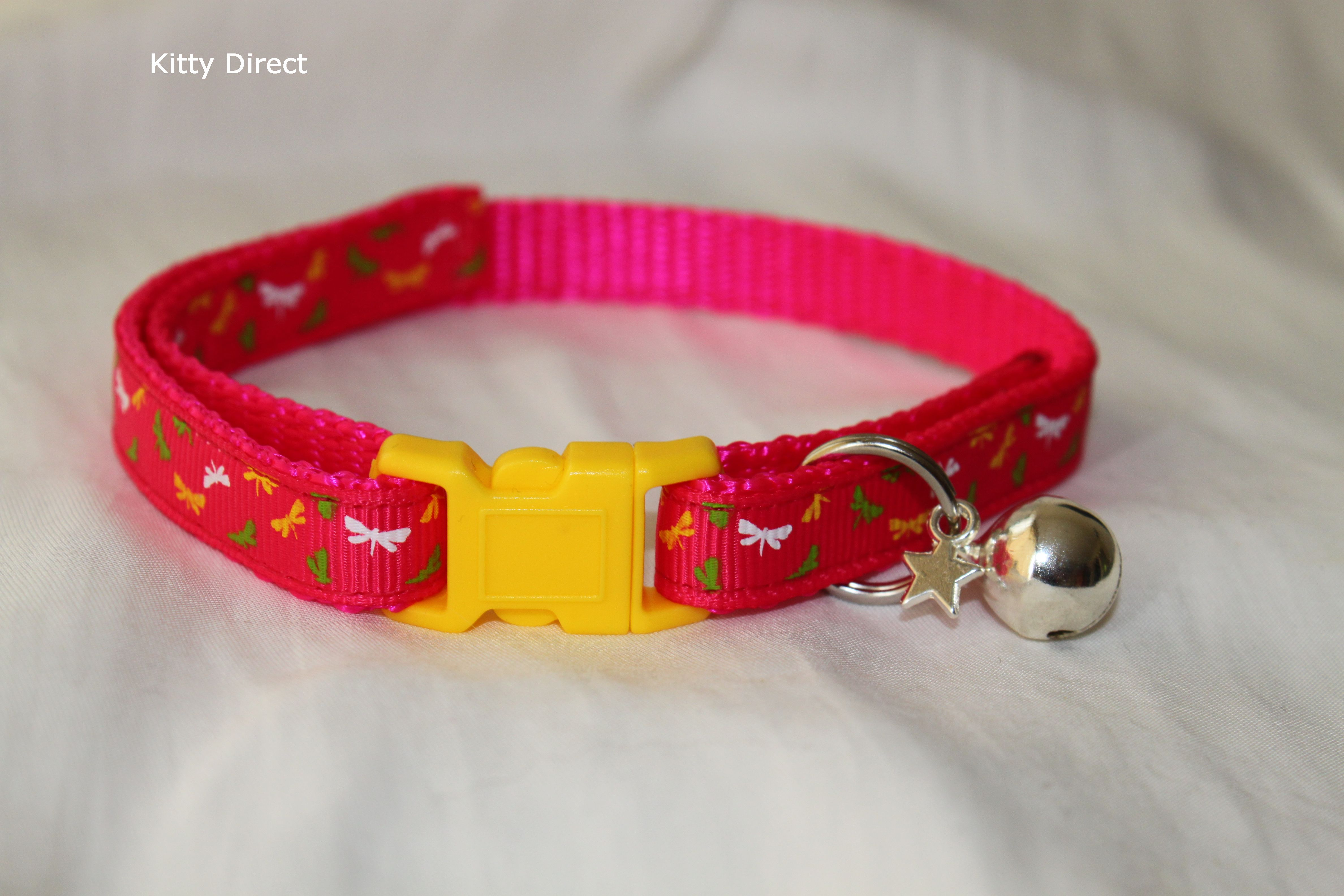 how to make fabric cat collar