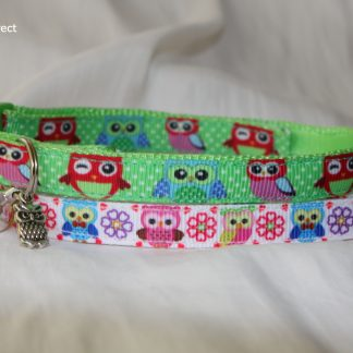 Owl Pussycat Cat Kitten Safety Collar