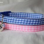 Gingham Cat Kitten Safety Collars