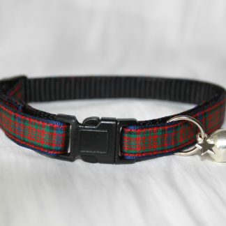 Scottish_Tartan_Plaid Cat Kitten Safety Collar_2