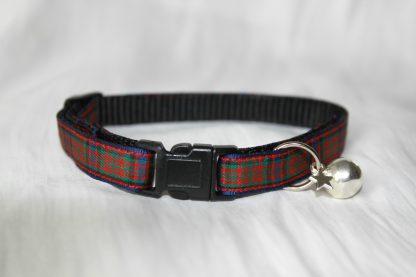 Scottish_Tartan_Plaid Cat Kitten Safety Collar_2