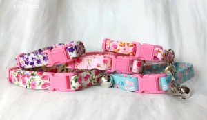 cotton cat and kitten collars