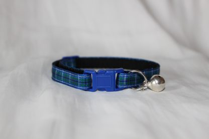 blue tartan cat collar kitty direct_5