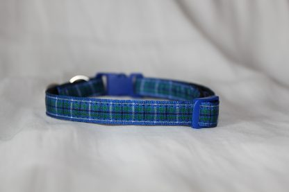 blue tartan cat collar kitty direct_4