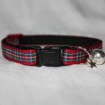 red tartan cat collar kitty direct_6