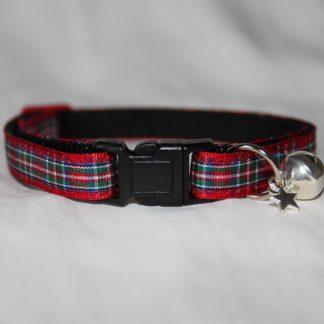 red tartan cat collar kitty direct_6