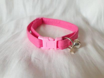 Pink Cotton Cat Kitten Safety Collar 10