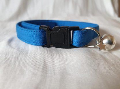 Blue Cotton Cat Kitten Safety Collar 1