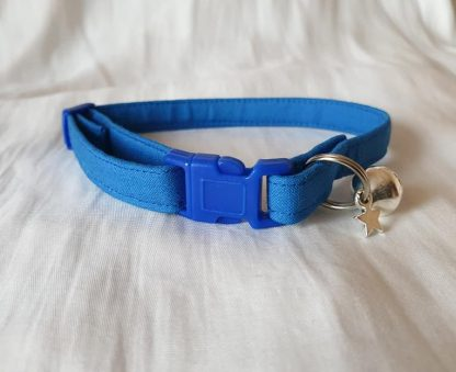 Blue Cotton Cat Kitten Safety Collar 2