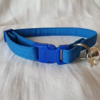 Blue Cotton Cat Kitten Safety Collar 5