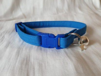 Blue Cotton Cat Kitten Safety Collar 5