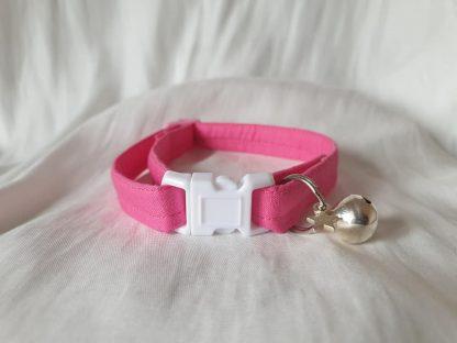 Pink Cotton Cat Kitten Safety Collar 4