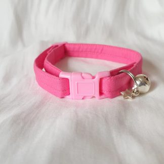 Pink Cotton Cat Kitten Safety Collar 5