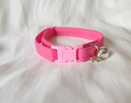 Pink Cotton Cat Kitten Safety Collar 5