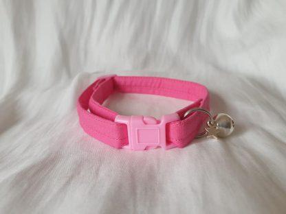 Pink Cotton Cat Kitten Safety Collar 7