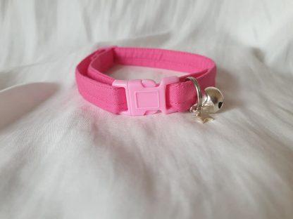 Pink Cotton Cat Kitten Safety Collar 8
