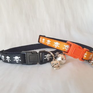 Halloween Skulls Kitten Cat Collar